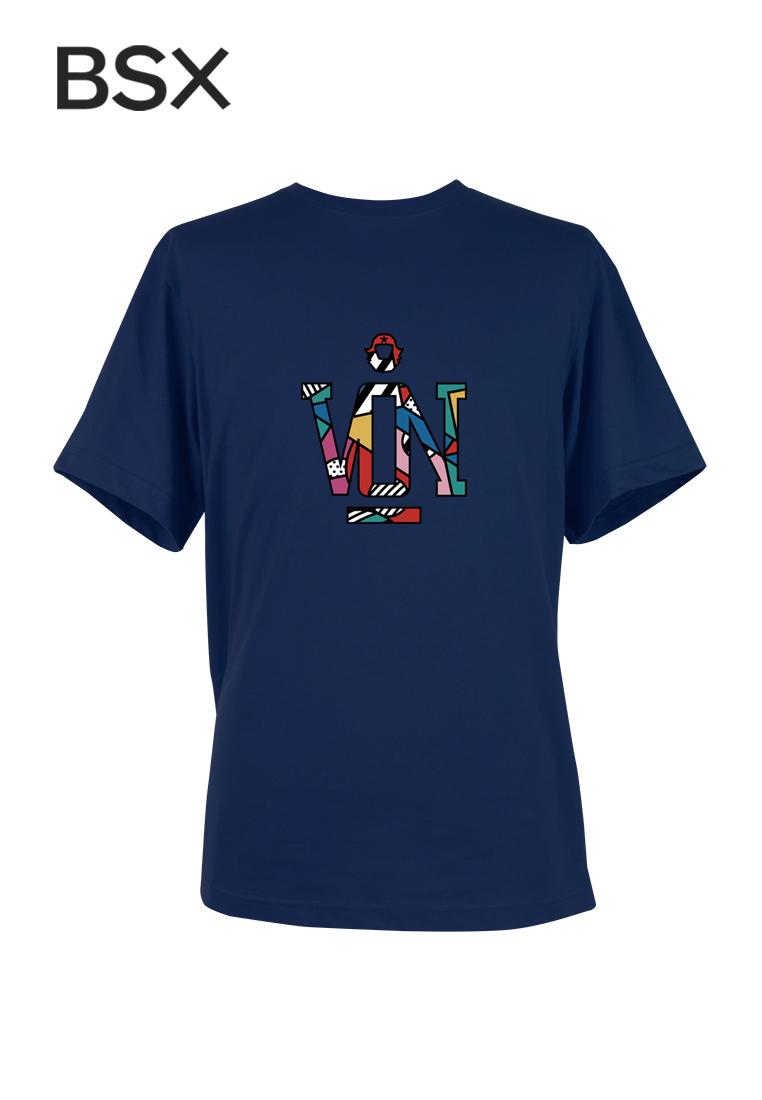 BSX Regular Fit Printed T- shirt 10409029849