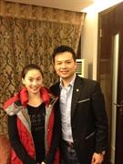 雅典奧運跳水金牌李婷, 高興擔任顧問
